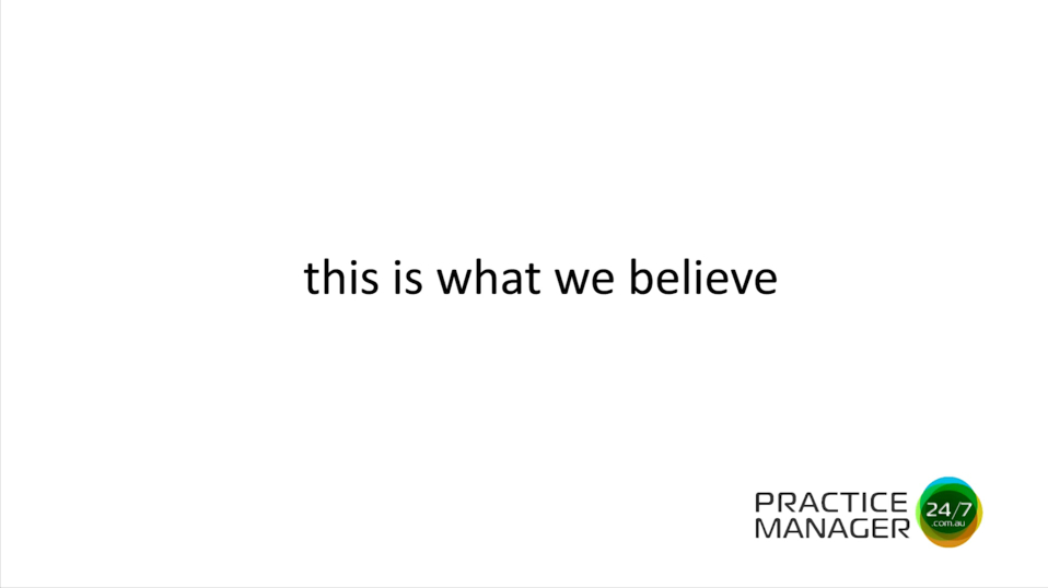 This Is What We Believe